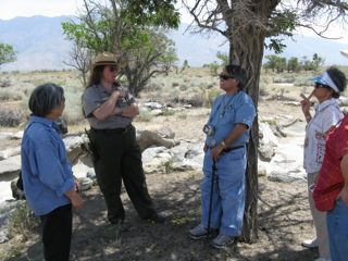 OWWCC delegation members with National Park Service Staff �