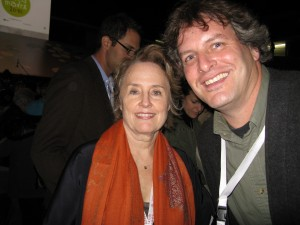 JG with Alice Waters